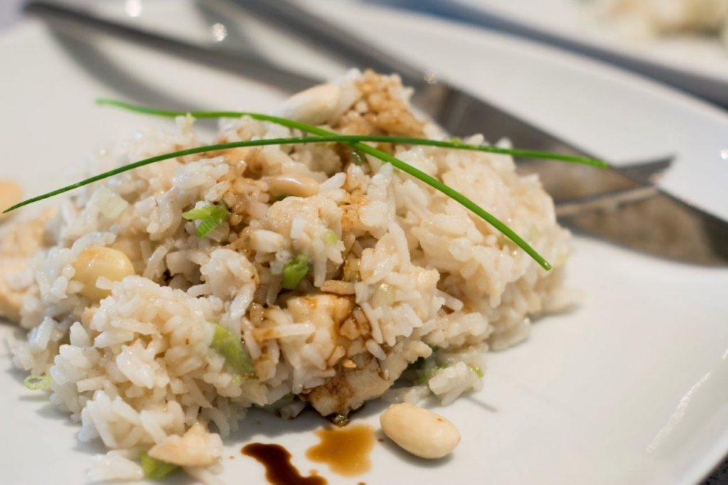 Reispfanne mit Honighähnchen 3